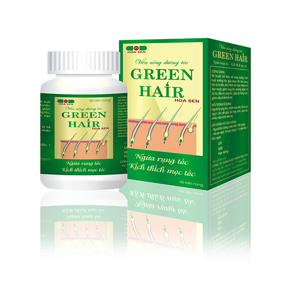 Green Hair Hoa Sen