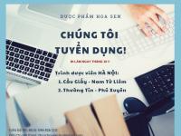 [Cầu Giấy, Nam Từ Liêm, Thường Tín, Phú Xuyên] Tuyển dụng TDV tại Hà Nội