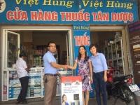 Trao thưởng cho các Nhà thuốc may mắn trúng giải Chương trình Thẻ cào Vui cùng Hoa Sen