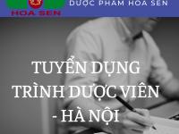 [Cầu Giấy, Sơn Tây, Ba Vì] Tuyển dụng TDV tại Hà Nội