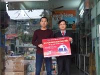 Trao thưởng xe Honda Lead cho khách hàng thân thiết tại Sơn Tây