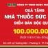 Chúc mừng nhà thuốc đầu tiên nhận 100 triệu tiền thưởng